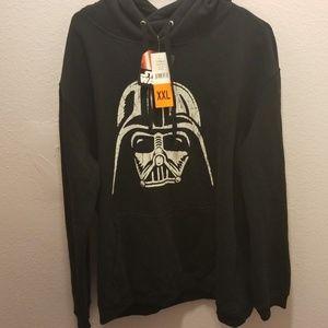Disney Star Wars XXL Vader Hoodie Black